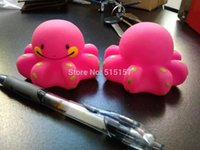 Cheap ON SALE 2 pieces  set Funny octopus cuttlefish Baby Swimming Pool Bath Toys for Kids & Baby