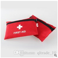 aids treatments - 2015 Useful First Aid Kit For Outdoor Travel Sports Emergency Survival Indoor Car Treatment Medical Bag First Aid Kit Bag LJJC1632