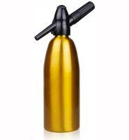 Wholesale 1000ML High Quality Premier Mixers Silver Aluminum Soda Siphon Soda Maker