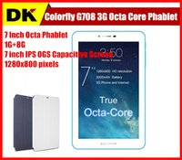 Cube 7 inch phablet - Colorfly G708 quot Octa Core G phone call Tablet PC MTK6592 inch GB GB IPS OGS Screen x800 G GPS Tablet Android Phablet