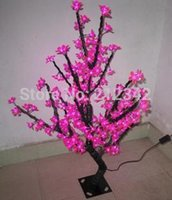artificial outdoor landscaping - LED Artificial Christmas Tree Light LED Cherry Blossom Tree LEDs m Height LED Outdoor Lamp IP65 Landscape Lighting Lamps