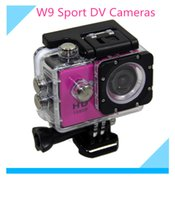 1080p waterproof hd digital video camera - Full HD W9 Gopro Sport DV Cameras Wifi Action Camera Wireless Video Recorder inch P Wide Angle Waterproof