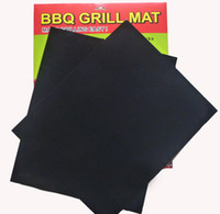 bbq grill sets - Brand New Set of Reuseable BBQ Grill Mat Liner Non Stick Barbecue Cooking Baking Mat Sheet With Logo Packing