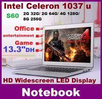 Wholesale 13 inch laptop computer intel Celeron U GHZ Dual Core GB GB windows camera laptop notebook Resolution HDMI