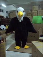 Animal bald eagle cartoon - 2015 Top selling Bald Eagle cartoon moive TV character mascot costumes