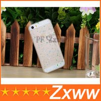 pvc cover - New Cell phone Case Fluorescent D Snow Hard colorful PVC Cover for iphone S iphone s HZ