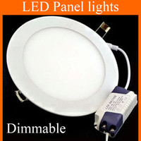 Cheap Dimmable 9W 12W 15W 18W 21W CREE Led Recessed Downlights Lamp Ultra Thin Led Panel Lights Round Square MBD002