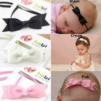 Cheap 2014 New Baby Bow Headband Hair Bowknot Headbands Infant Hair Accessories Girls Bow Headband Toddler Hairbands Free Shipping