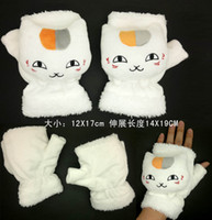 animations winter glove - Natsume s Book of Friends cat teacher animation peripheral products supply of warm winter gloves plush dolls
