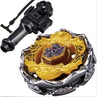 Wholesale Death Metal spinning fusion double Fury Beyblade parts rapidity grip perseus D Toys Launcher madeira bayblade mini dice
