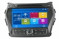 hyundai ix45 - HD din quot Car DVD GPS Navigation for Hyundai IX45 Santa Fe With G DVR Bluetooth IPOD TV USB SWC RDS AUX IN