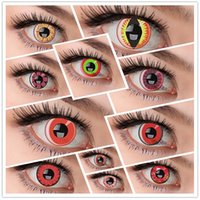 halloween contact lenses - WHOLESALES yearly used glass packing FAMOUS VIVIGO colorful crazy soft contact lenses colorzone PAIR