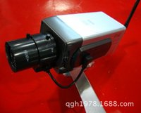 Wholesale The simulation monitor camera fake gun Rotary simulation monitor light with a switch A