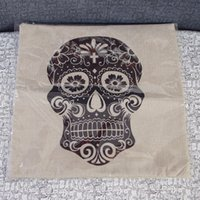 Cheap Wholesale-2015 new bedding pillowcase pillowcases home decor fashion skull cushion   pillow   lumbar pillow