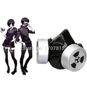 Wholesale Hot Tokyo Ghoul Toka Kirishima and Ken Kaneki Gas Mask Cosplay Prop
