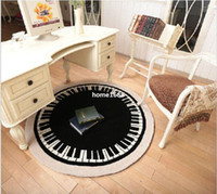 acrylic chair mat - 120cm cmThe piano design computer chair mat lovely circular carpet Manual acrylic sitting room the bedroom carpet