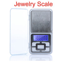 pocket Scale mini digital pocket scale - High Accuracy Mini Electronic Digital Pocket Scale Jewelry scales with blue LCD Screen H9629