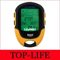 Wholesale FX500 Multi Function Electronic Altimeter Thermometer Rechargeable SUNROAD Pine Road FR500