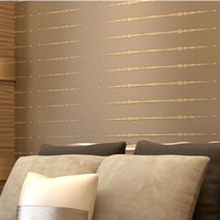 best wallpaper color - Best Color Solid Striped Pattern Non woven Wall Paper Rolls Background Wallpapers Behang Papel De Parede Wall Decal Murals AB5812