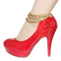 2015 Fashion Women Anklets For Slave Bracelet Foot Bohemian Wedding