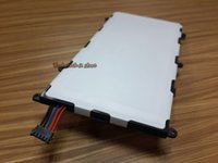 Wholesale SP4960C3B for Sumsung GALAXY TAB P6200 P3110 P3100 Original tablet PC battery mah