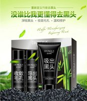 Wholesale Remove black head set Black mask Pilaten blackhead remover Acne treatment Pore Cleanser Skin Care Face Facial Mask g Makeup set free