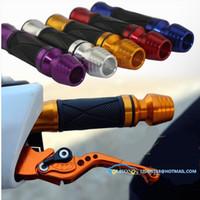 Wholesale For Moped motorcycle throttle grip rubber handle sleeve Yamaha Suzuki handlebar plugs modified handlebar sets