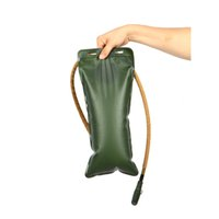 Wholesale Outdoor Camping Hiking L Water Bag Thickening EVA Hydration Portable Water Bladder Bag for Cycling Bicycle Bike Army Green