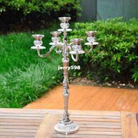 Wholesale European style Heighten Arm Candlesticks Home Hotel Ktv Supplies Wedding Romantic Wedding Gifts