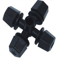 Wholesale 20Pcs Head Sprinkler Fountain Nozzle Irrigation Micro Sprinkler Garden Shed Water Cooling Water The Plants