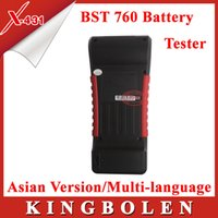 Wholesale 2015 New Arrival Original Launch BST Battery Tester Asian Version Support English Russian For Gift DHL