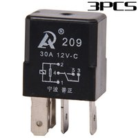 auto fan relay - In stock Car Auto A V DC Relay Kit For Electric Fan Fuel Pump Light Horn Pin