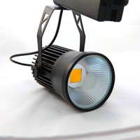 Wholesale W CREE COB LED Track light with Mean well driver as shopping mall clothing store lighting lamp