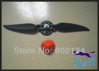Cheap free ship airplane RC model sparepart :EP1060 folder propeller for TW742-3 plane lanyu 2m glider