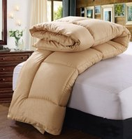alternative comforter twin - Microfiber Fabric All Season Luxurious Down Alternative Twin or Full or Queen or King Comforter Camel