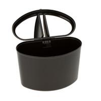 trash cans - Mini Car Dustbin Trash Rubbish Can Garbage Dust Box Case Holder Bin with Hook Y0425