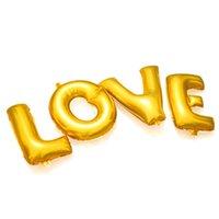 aluminium couplings - Hot CM letter love birthday party balloons balloon wedding couple balloons wedding balloons love baloons
