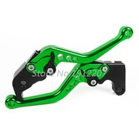 Wholesale Brake Clutch Levers For Kawasaki GPZ500S EX500R NINJA CNC Shorty Levers Pair Motorcycle Brakes mm inches
