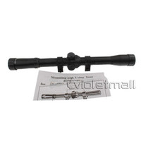 Wholesale Rifle Scopes x20mm Rifle Crosshair Scope for Caliber Rifles Air Guns for Military A Quality NO Precise