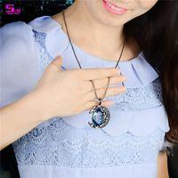avenue jewelry - Pendants jewelry necklace crystal jewelry statement choker necklaces for women rhinstone pendant fashion jewelry usa crystal avenue jewelry