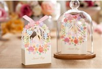 wedding favor - 2015 Artisful Laser Cut Wedding Cady Boxes Groom And Brides Decoration Wedding Party Favors Wedding Favors And Gifts