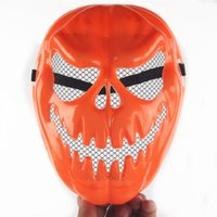 bars uppers - Halloween pumpkin mask Halloween horror masks thick bar dance party play props supplies