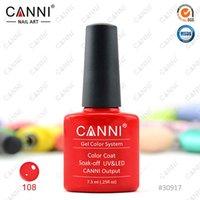 gel polish - 30917x CANNI Factory Hot Sale Nail Art Soak off UV LED Colors ml CANNI UV Gel Polish