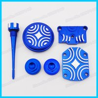 Wholesale Blue Engine Dress Up Kit For LIFAN ZONGSHEN YX cc cc cc cc Pit Dirt Bike Motorcycle Motocross Scooter order lt no track