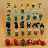 wholesale action figures - 2016 Newest Juguetes Minecraft Action Figure Toys Collect Steve Enderman Zobies jj Toy Figures Best Gifts For Kids