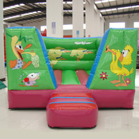 animal house theme - AOQI inflatable amusement equipment high quality inflatable jumping bouncer duck theme inflatable bouncy house for sale