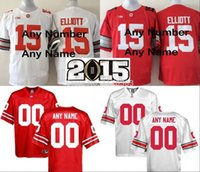 custom american football jerseys - Factory Outlet Personalized Big patch Ohio State Buckeyes Jerseys Red White custom American College Football Jersey Embroidery name nu