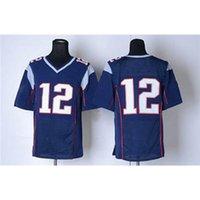Wholesale 2015 Super Bowl XLIX Jersey Brady Navy Blue Elite American Football Jerseys Mix order