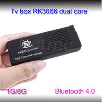 Wholesale MK908 Android tv Stick RK3066 Dual Core GB GB mini micro usb stick TV miracast dongle hdmi p tv stick dlna