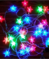 Wholesale Christmas Decoration Lights Circular Lamp Meters The Star Light Is Meters Decorate Beautiful Life More Romantic Free DHL